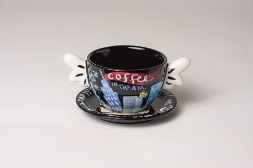 Coffee Cup Black