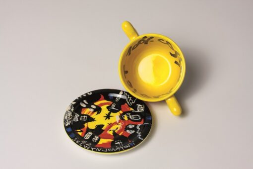 Coffee Cup Yellow
