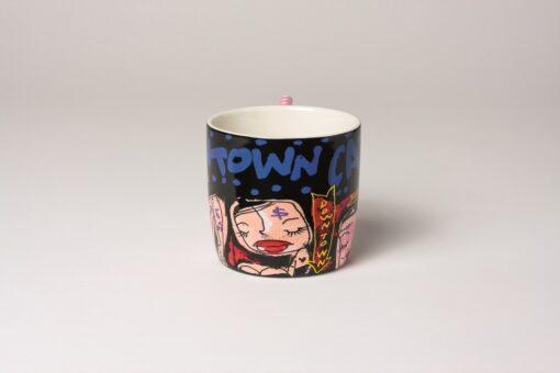 Coffee/Tea Mug round Black