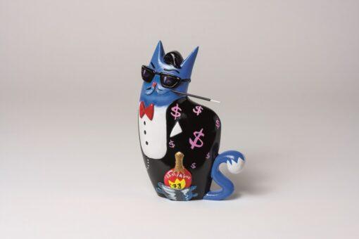 Big City Cat Blue - Dean 1