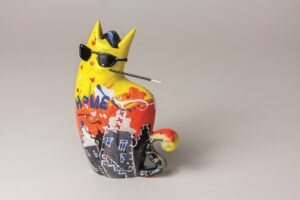 Big City Cat Yellow - Zatti