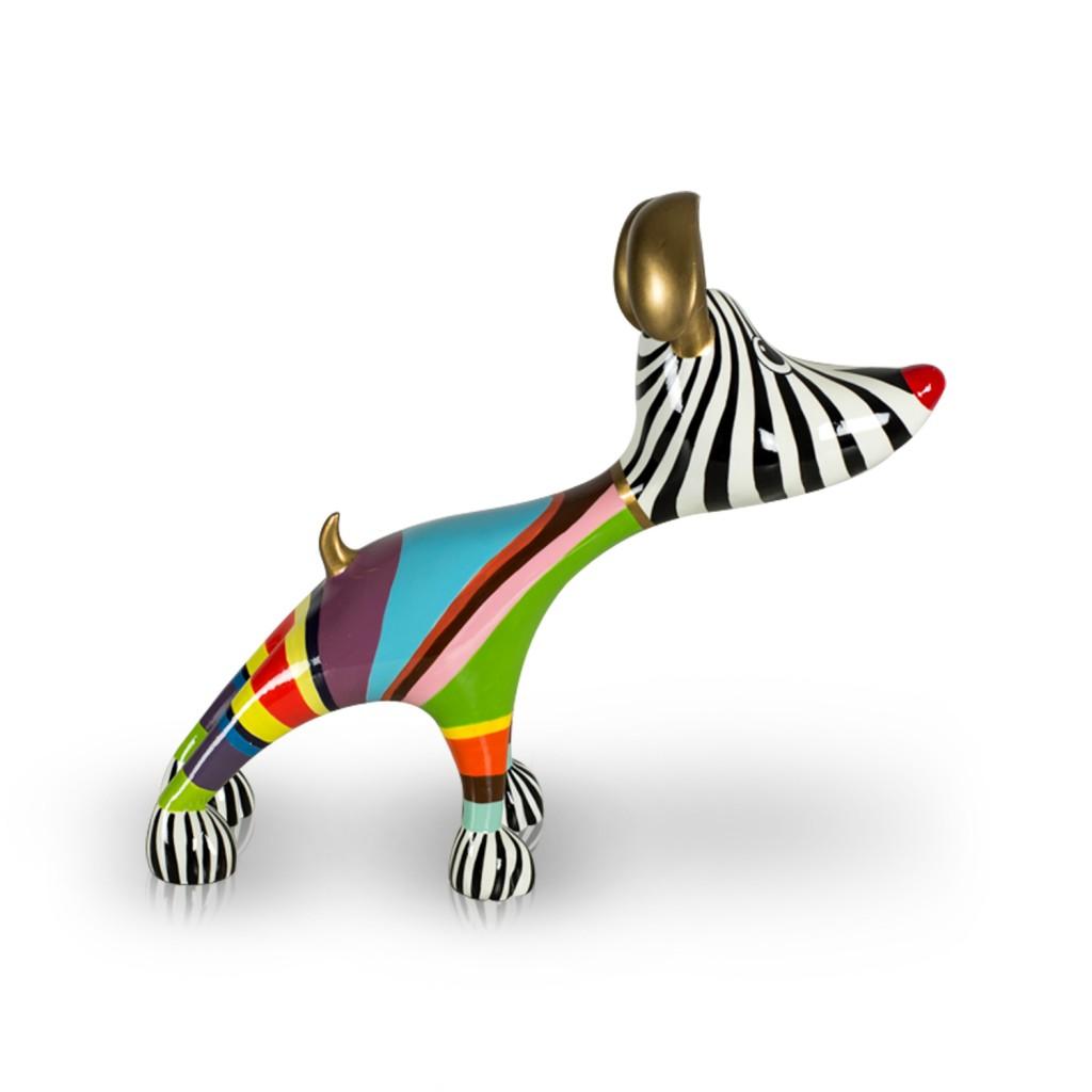 beeld stretching dog billie niloc pagen