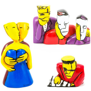 Herman Brood 3D Beelden