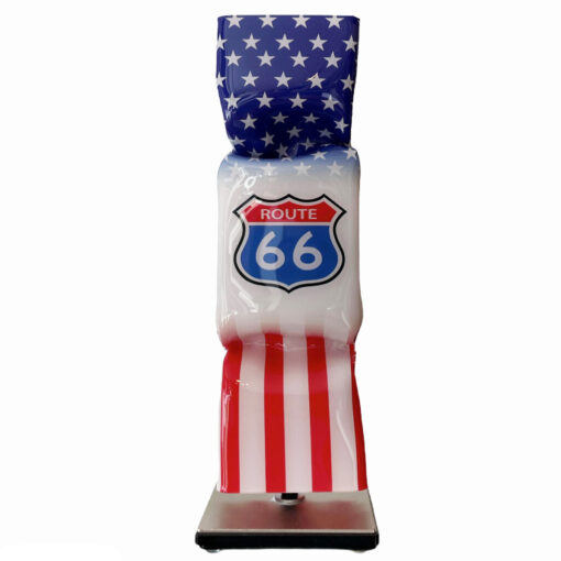 ad van hassel art candy toffee route 66
